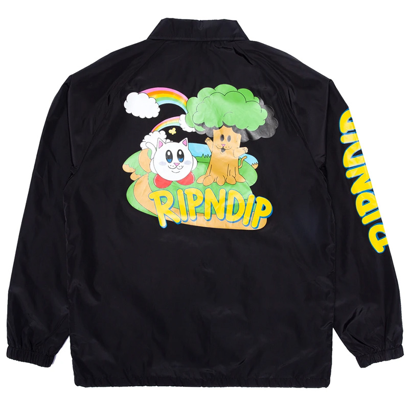 RIPNDIP Nermby Coach Jacket Black