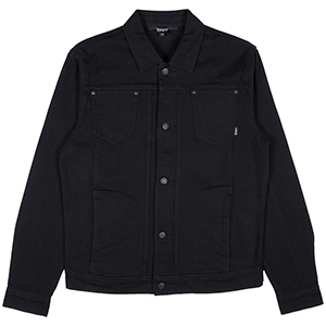 RIPNDIP Nermcasso Flower Denim Jacket Black