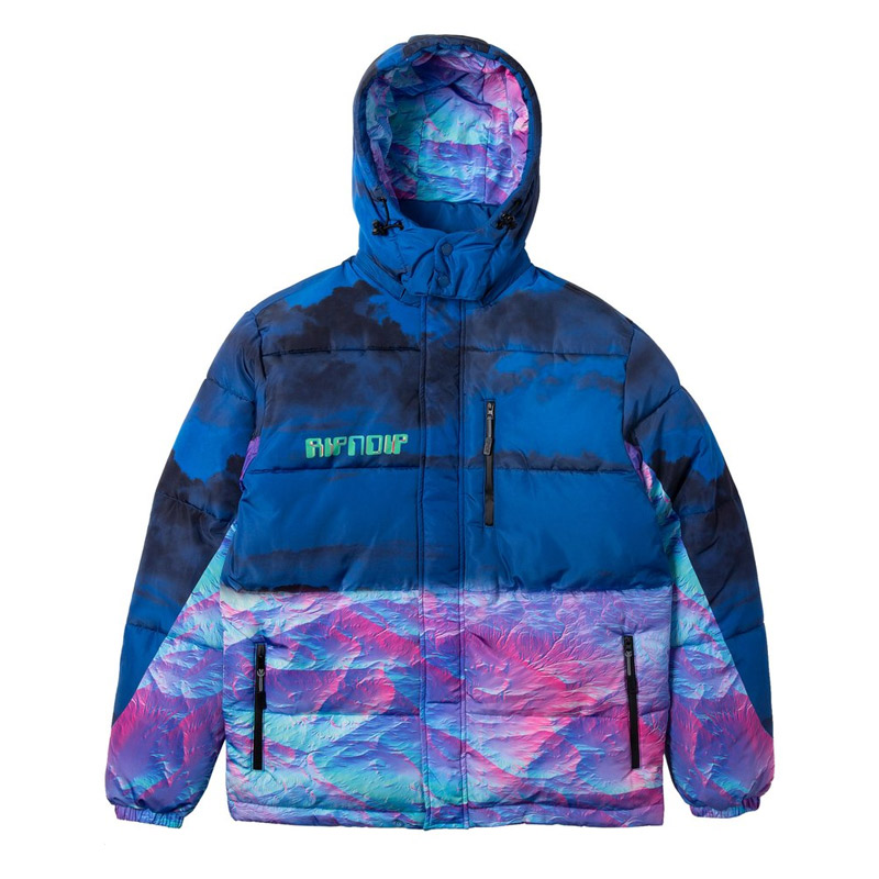 RIPNDIP Thermal Nermal Puffer Jacket Blue