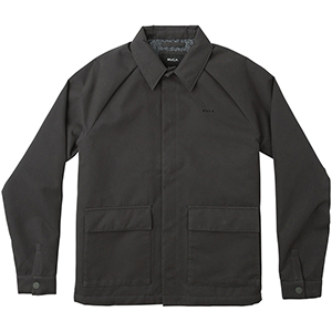RVCA Coach Of The Year Pirate Jacket Black