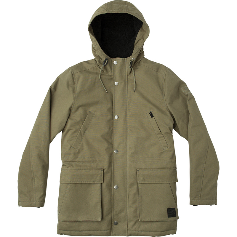 RVCA Ground Control II Jacket Olive