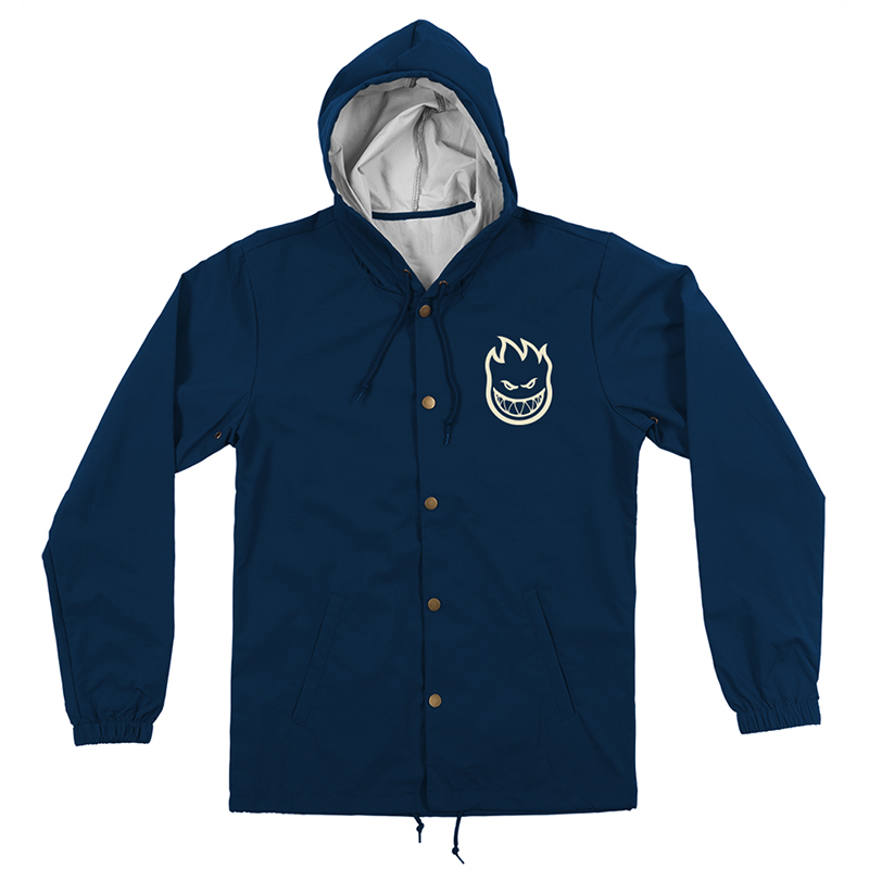 Spitfire Bighead Lil Hombre Coaches Jacket Navy/Off White