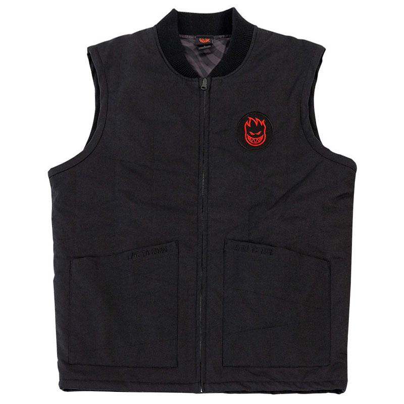 Spitfire LTB Vest Black