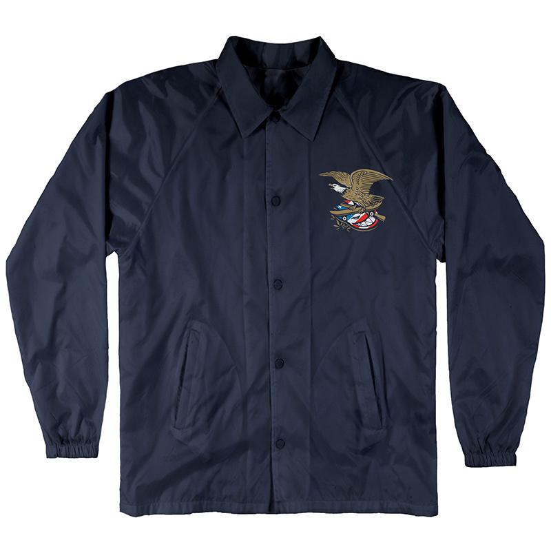Spitfire Members Waterproof Coaches Jacket Navy