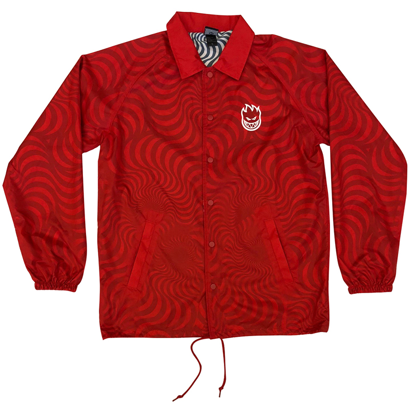 Spitfire Multi Swirl Capsule Jacket Red