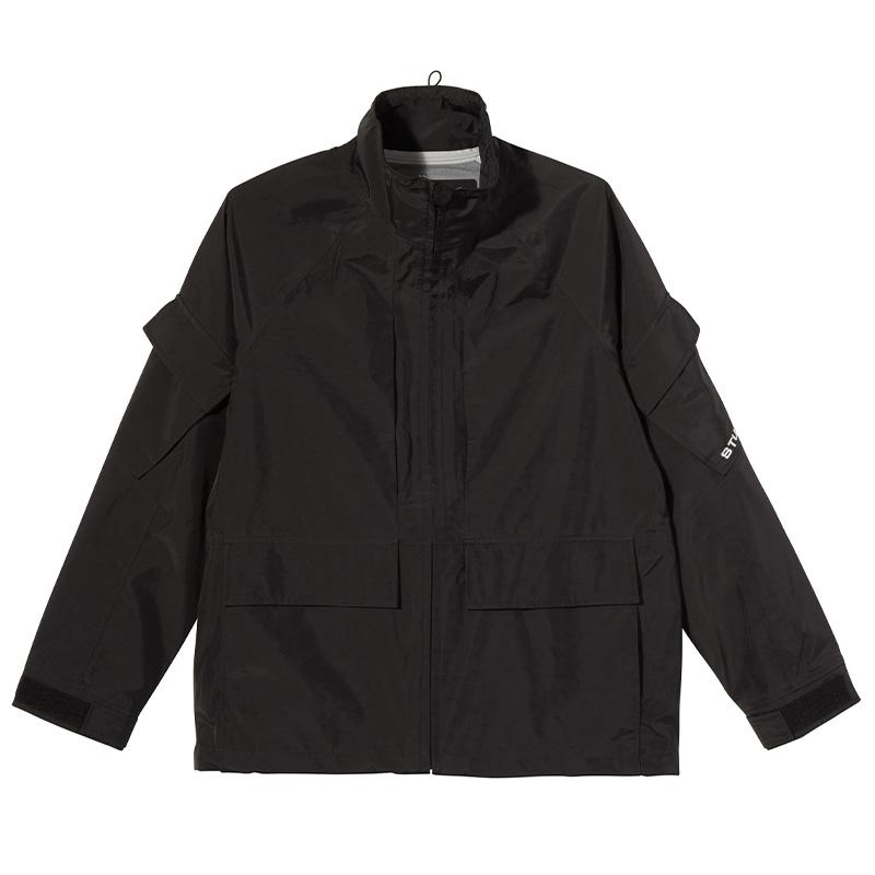 Stüssy Apex Shell Jacket Black