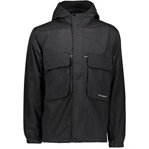 Stussy Big Pocket Shell Jacket Black