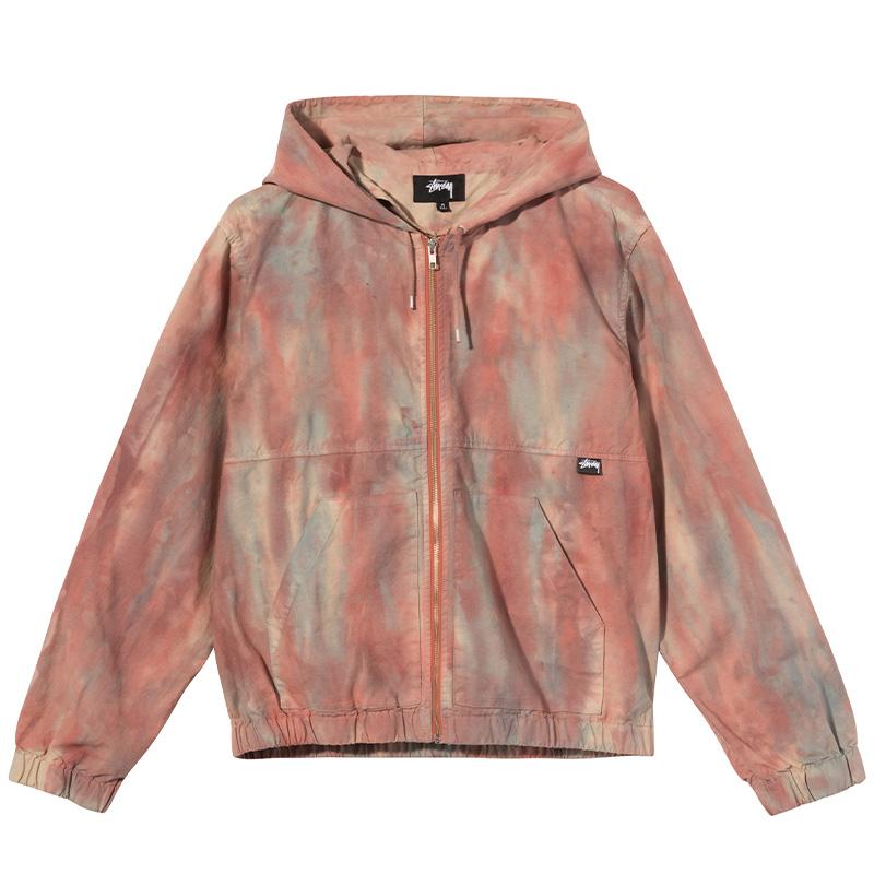 Stüssy Dyed Work Jacket Rust