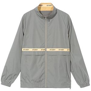 Stussy Lewis Track Jacket Grey