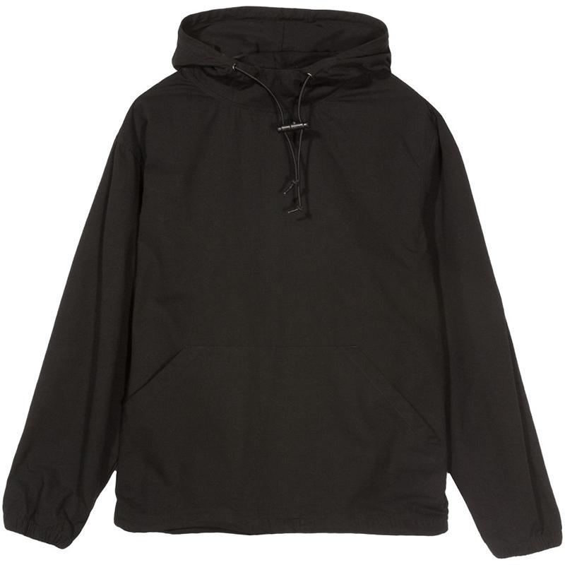 Stussy Ripstop Pullover Jacket Black