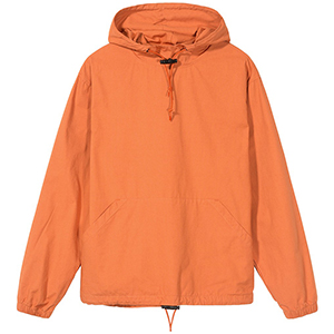 Stussy Ripstop Pullover Jacket Rust