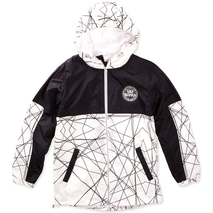 Supra Dash Track Jacket White/Print