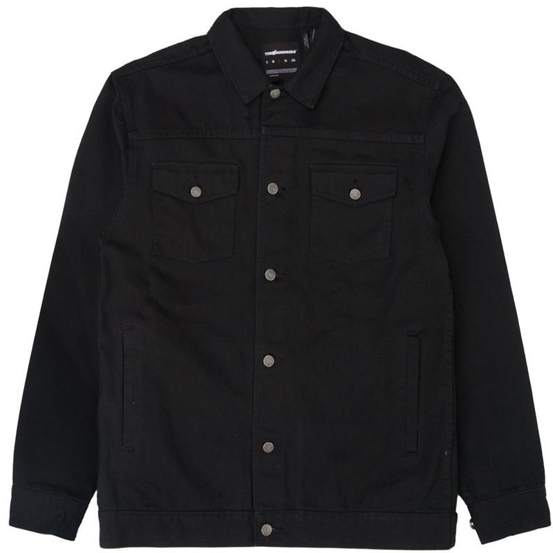 The Hundreds Ashford Jacket Black