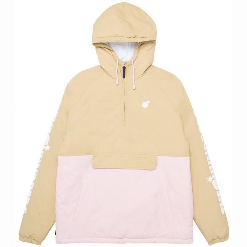 The Hundreds Dell 2 Anorak Jacket Khaki