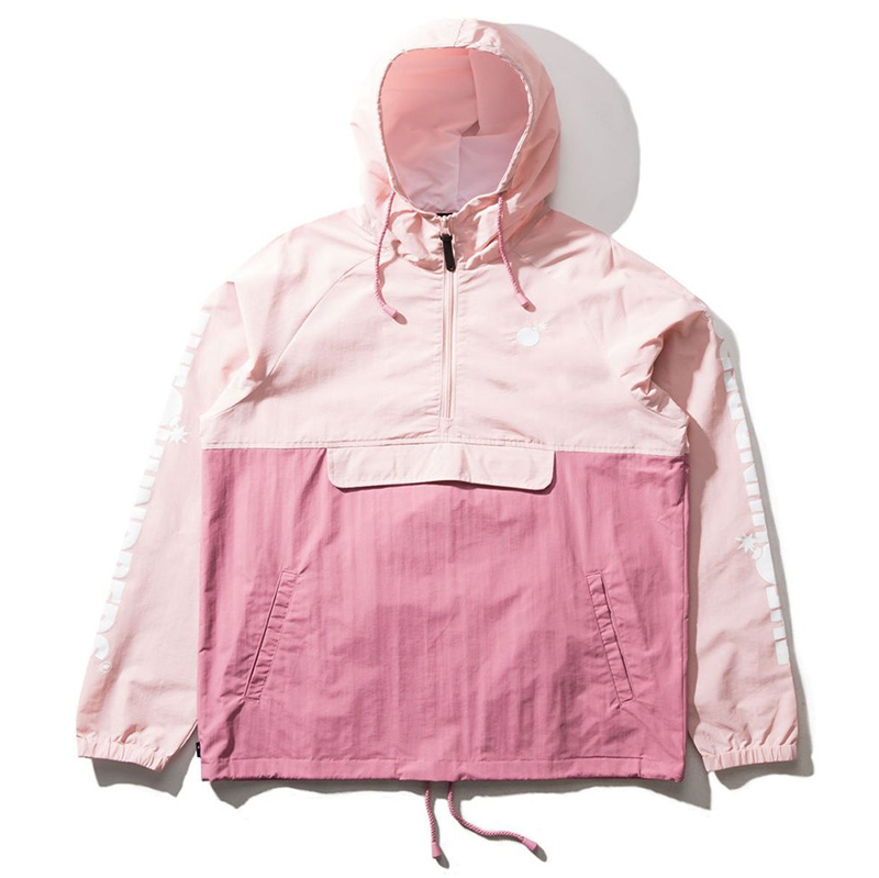 The Hundreds Dell 2 Anorak Jacket Mauve