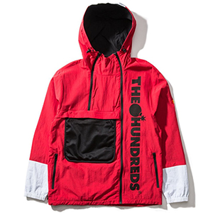 The Hundreds Terrain Jacket Bright Red