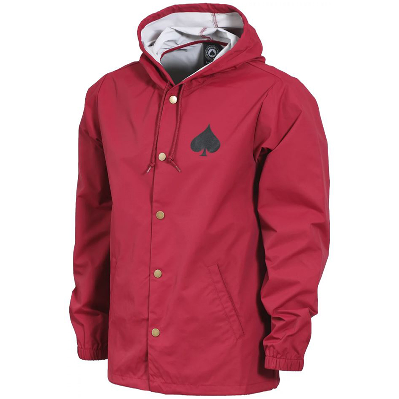 Thrasher New Oath Coach Jacket Cardinal