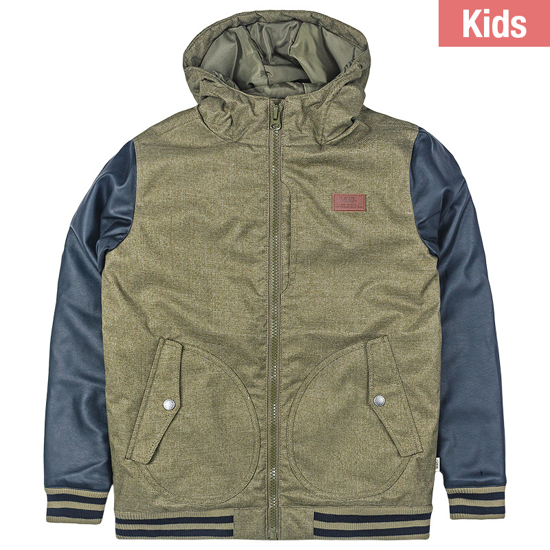 Vans Kids Rutherford II Jacket Grape Leaf/Black