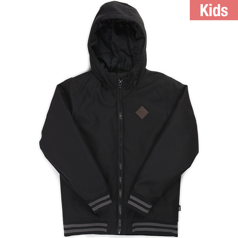 Vans Kids Rutherford Jacket Matte Black/Black