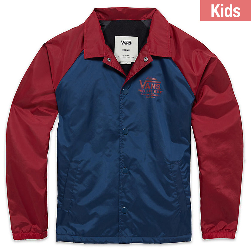 Vans Kids Torrey Jacket Dress Blues/Rhubarb