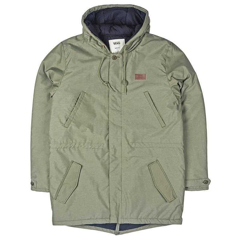 Vans Lomax Deluxe Jacket Grape Leaf