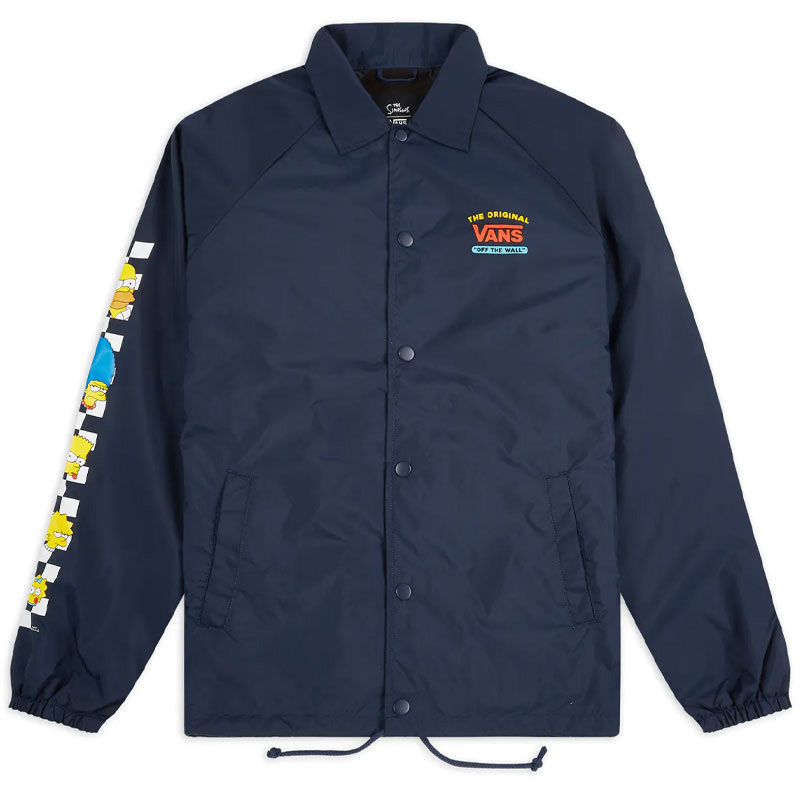 Vans X The Simpsons Torrey Jacket Navy