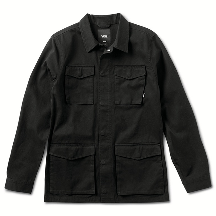 Vans X Thrasher Military Jacket Black