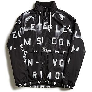 Volcom A.P. Track Jacket Black Print