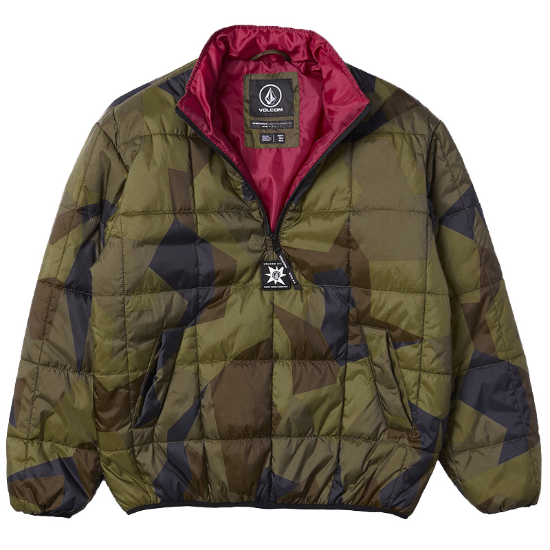 Volcom A.P.2 Puff Liner Jacket Camouflage