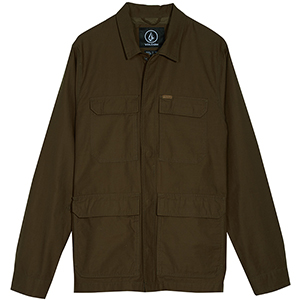Volcom Academy Jacket Seaweed Green