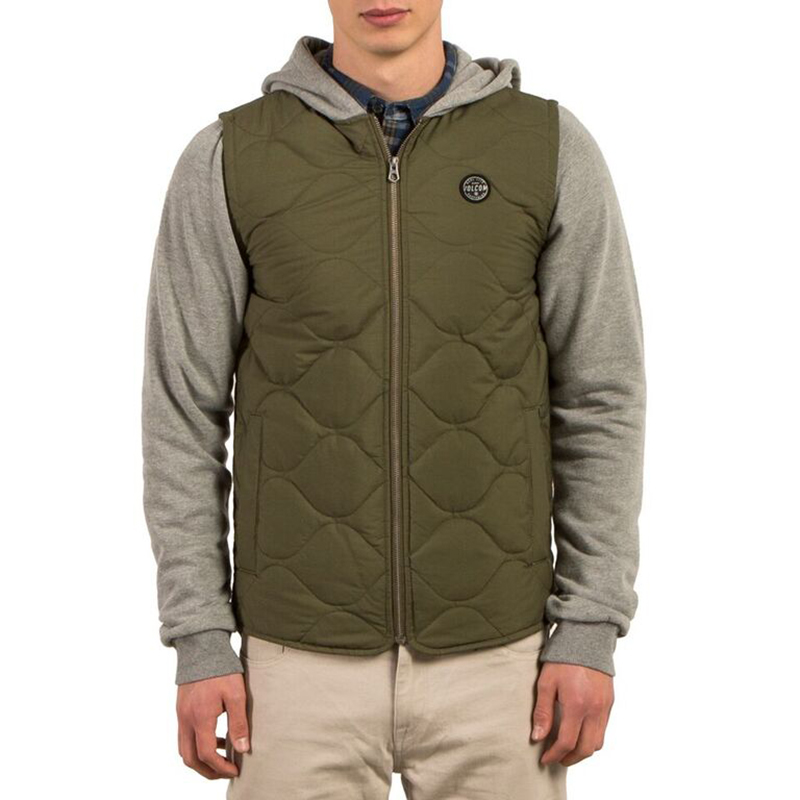 Volcom Buster Puffer Jacket Military