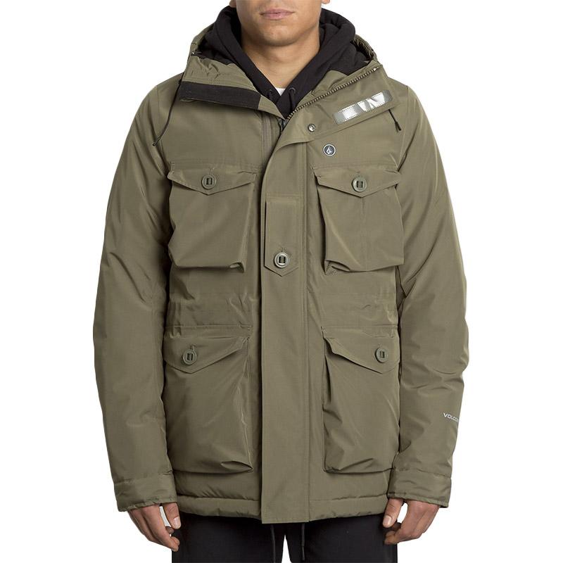 Volcom Hawstone 5K Jacket Army Green Combo