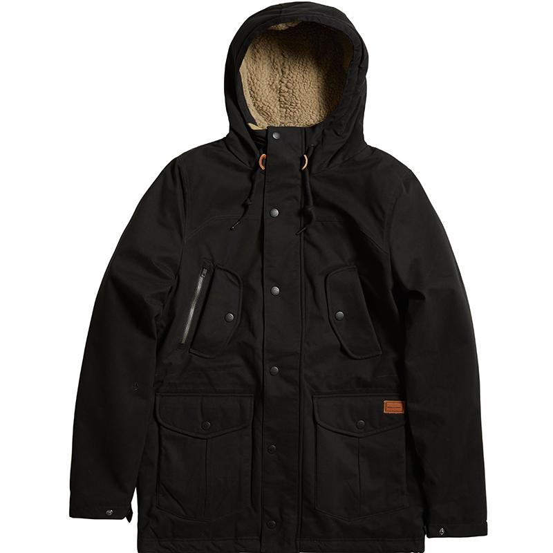 Volcom Starget Parka Jacket Black