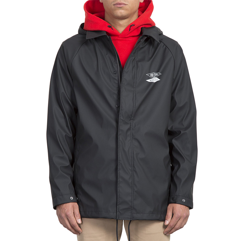 Volcom V.I. Rain Jacket Black