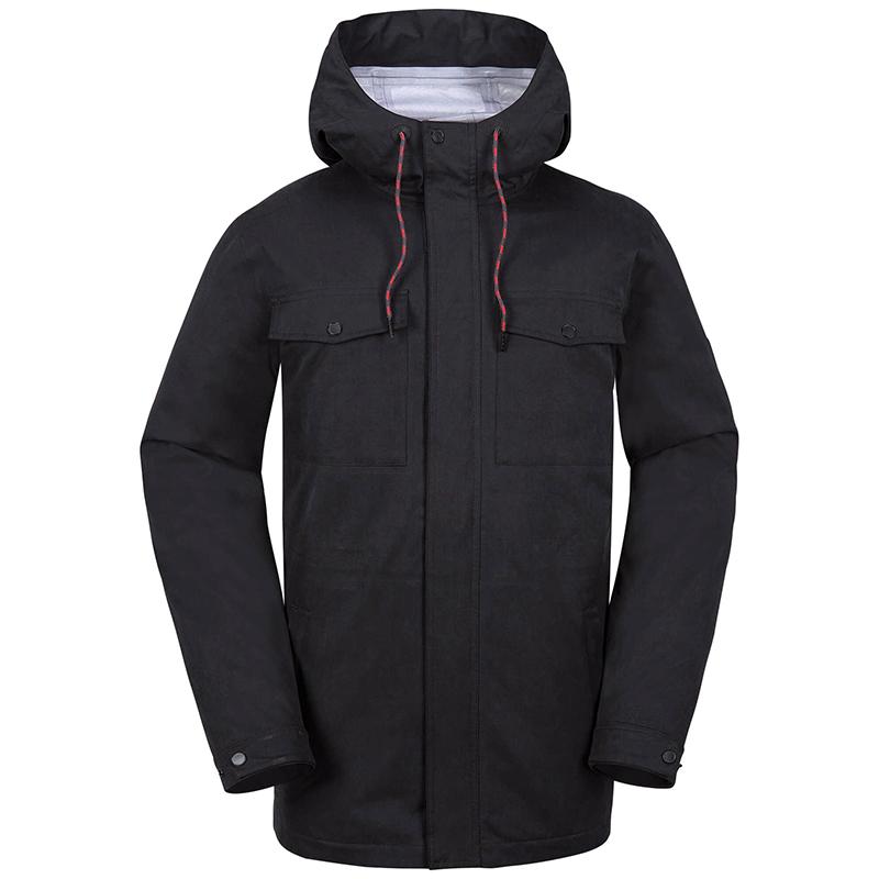 Volcom V.Co 3L Rain Jacket Black