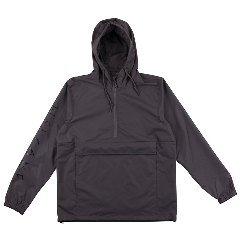 Welcome Tali-Scrawl Anorak Jacket Graphite/Black