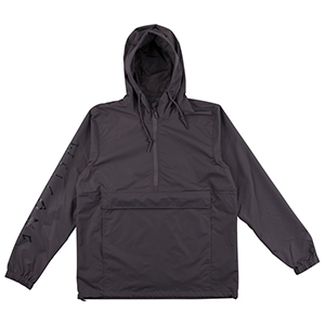 Welcome Tali-Scrawl Anorak Jacket Graphite/Black