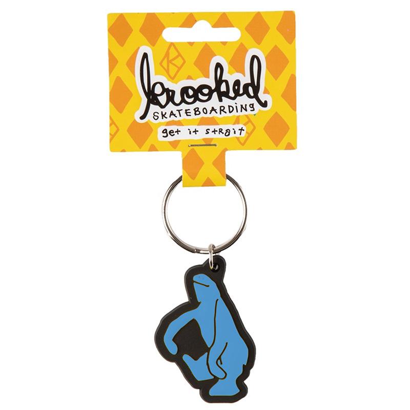 Krooked Shmoo Keychain Blue