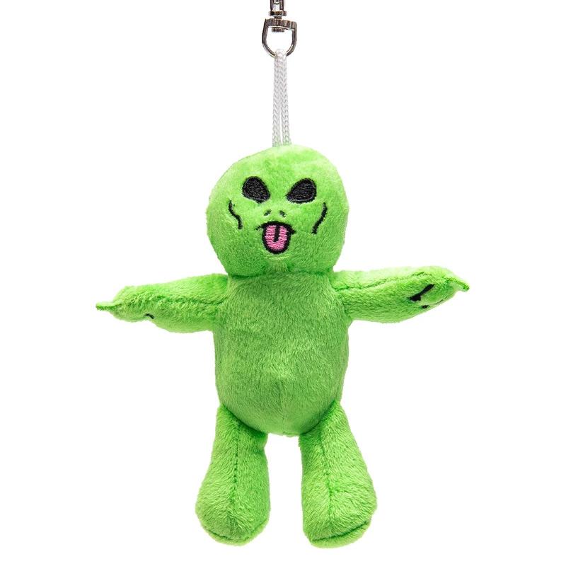 RIPNDIP Lord Alien Mini Plush Keychain Green