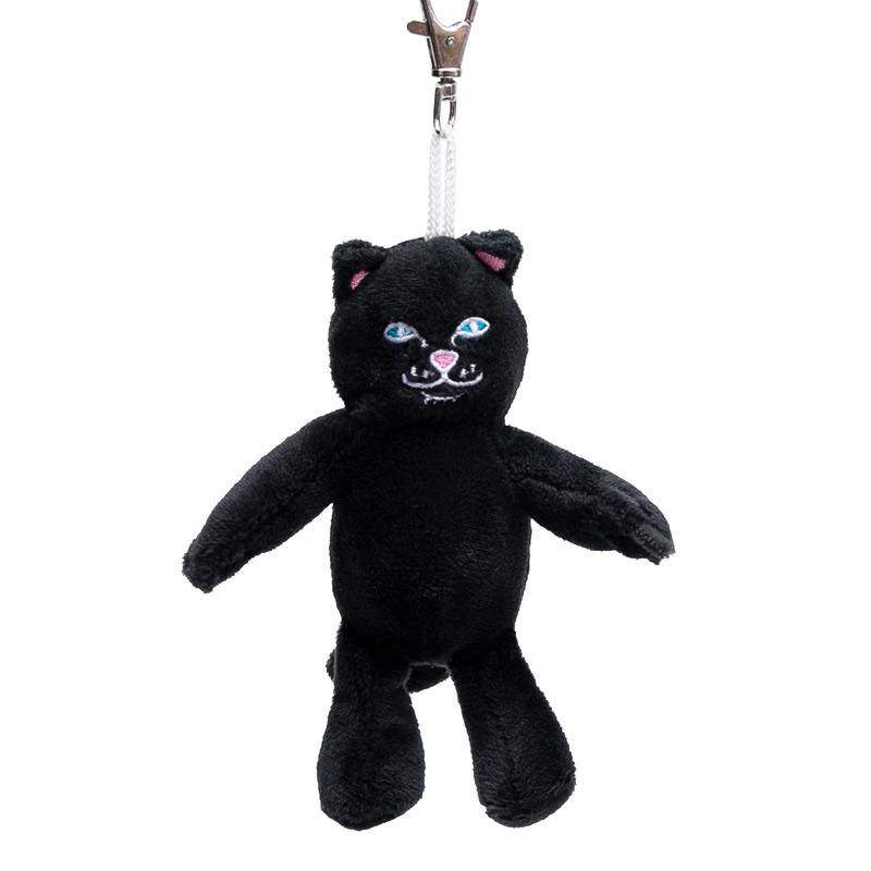 RIPNDIP Lord Jerm Mini Plush Keychain Black