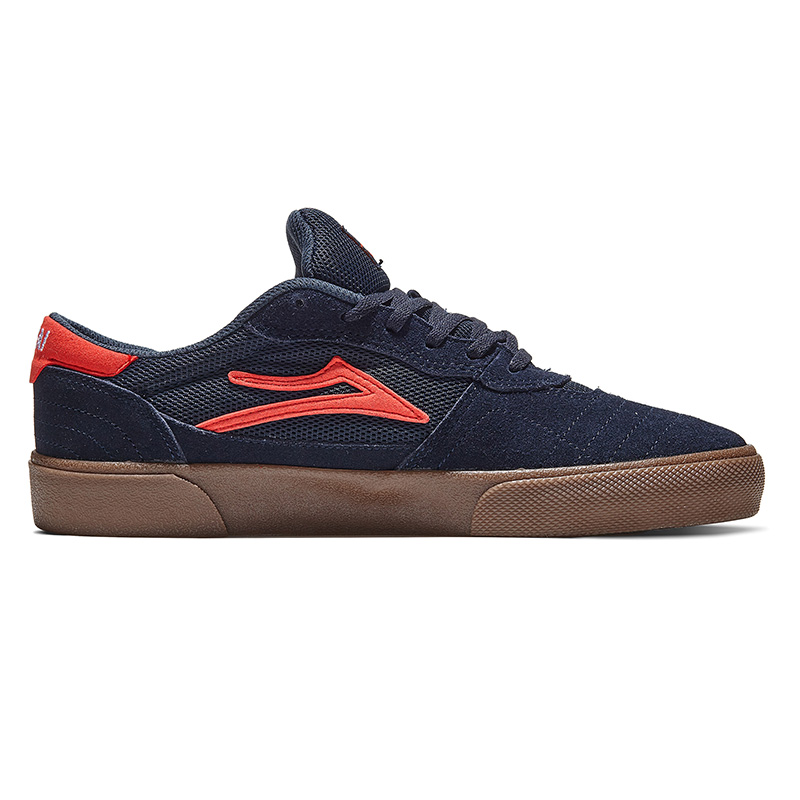 Lakai Cambridge Navy/Flame Suede