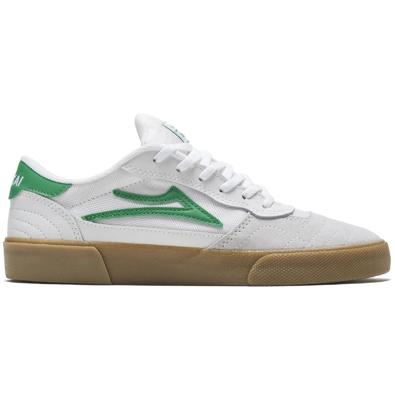 Lakai Cambridge White/Grass Suede