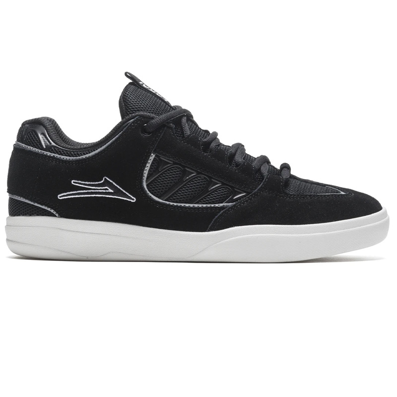 Lakai Carroll Black/White Suede
