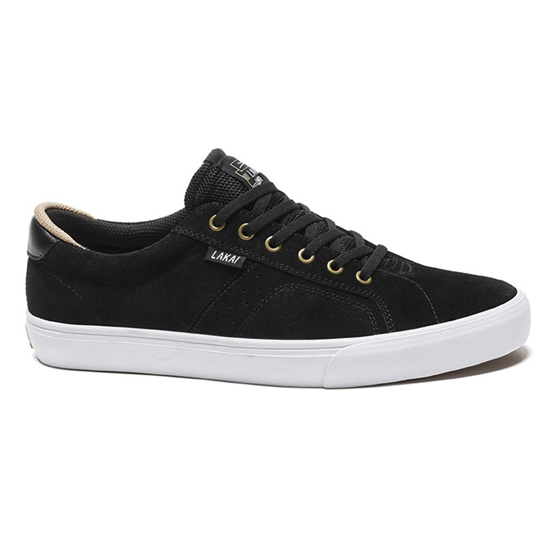 Lakai Flaco Shoes Black Suede