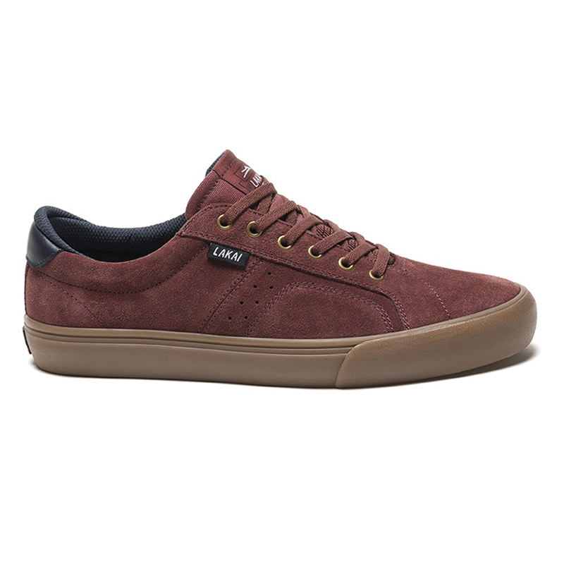 Lakai Flaco Shoes Brick Suede