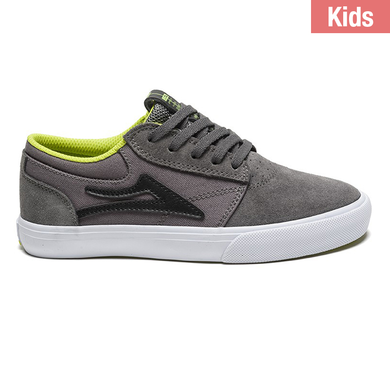 Lakai Kids Griffin Grey Suede