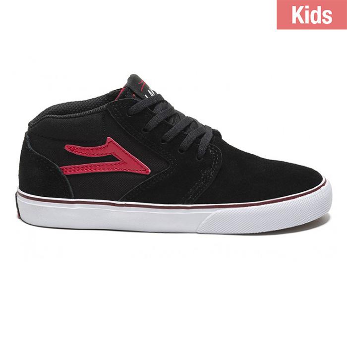 Lakai Kids Fura High Black/Red