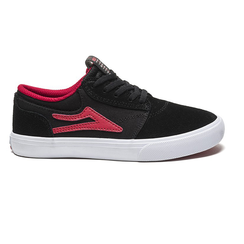 Lakai Kids Griffin Black/Red