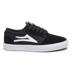 Lakai Kids Griffin Black/White Suede