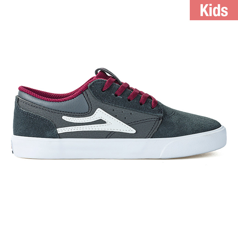 Lakai Kids Griffin Charcoal Suede